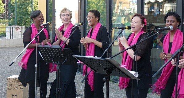 La Chorale Noisy-Liens à la fête de la musique