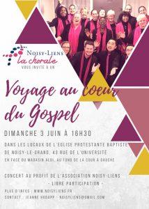 Voyage au Coeur du Gospel